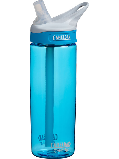 CamelBak eddy - Gourde - 600ml bleu/transparent